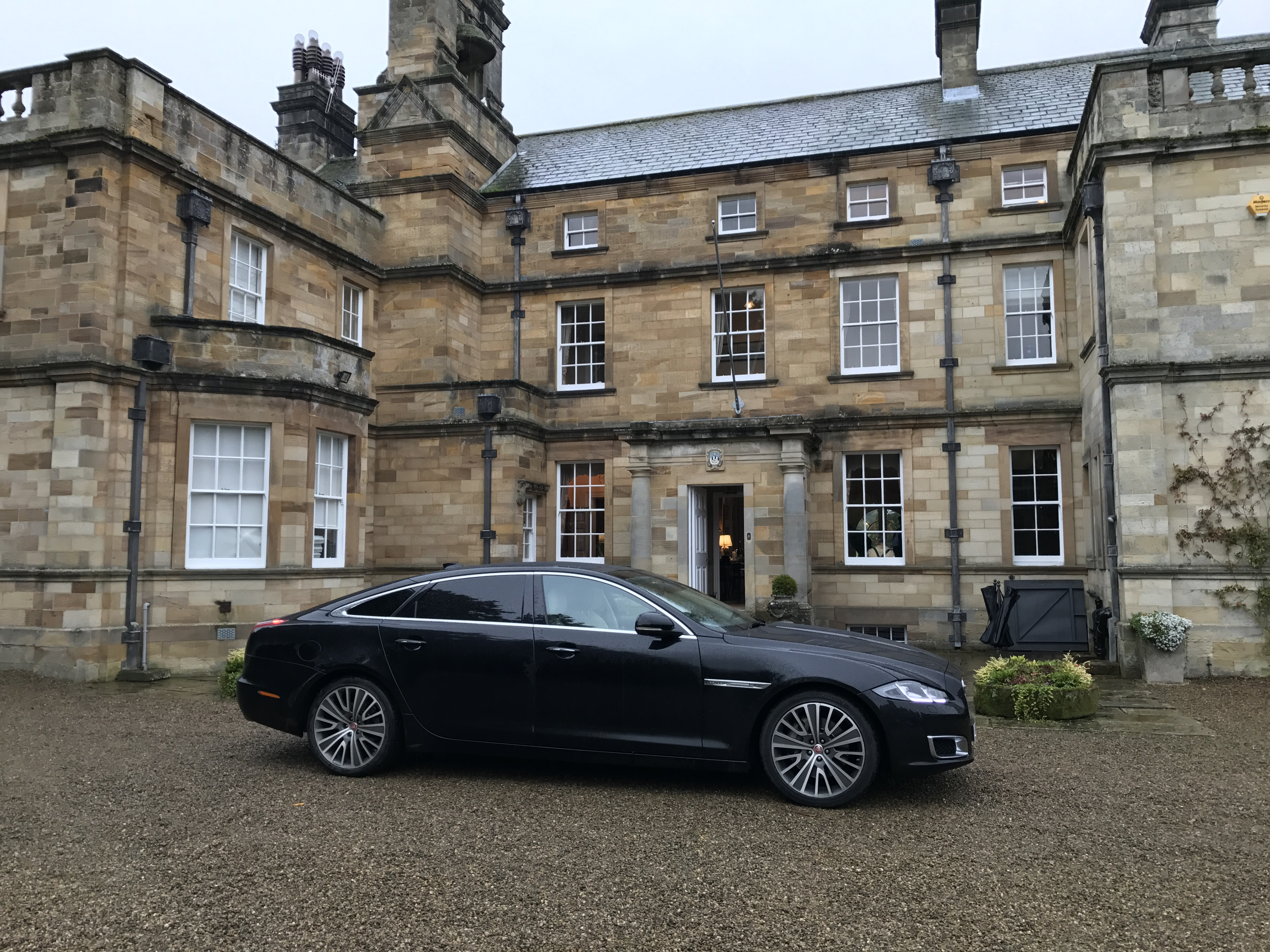 Jaguar XJL at Egton Shooting Estate, near Whitby in North Yorkshire