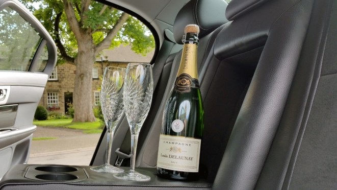 Alcoholic Drinks in Chauffeur Vehicle