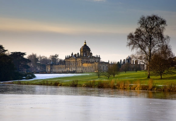 Castle Howard view of the South Lake